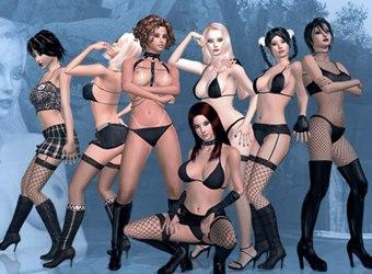 Kostenlose Sexspiele von 3D Sex Villa 2