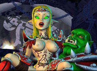 Erotik Spiel mit Galaxie Kriegsstrategie und elf Sex