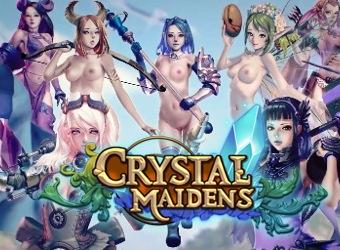 Crystal Maidens Hentai Handy Spiel mit Abenteuer