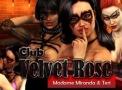 Porno Browser Flash Spiel namens Club Velvet Rose