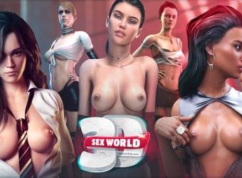 Sex World 3D nächste Generation Porno Spiel