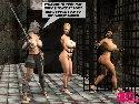 Devot nackt gefangene madchen