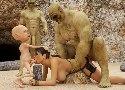 Lara croft von troll und kleine goblin gefickt
