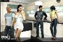 Vierer flirt in der kuche
