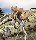 Grau alien fickt nackte blondines madchen