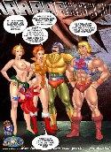 Bemuskelt heman sex comics