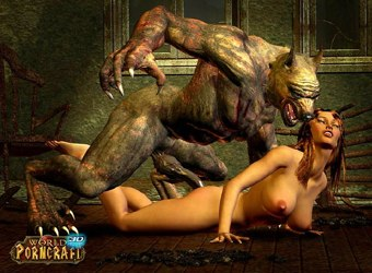World of Porncraft MMORPG Ungeheuer Elfen 3D Porno Bilder